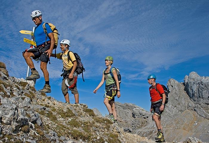 Klettersteig De : Klettersteig am kanal benalauría serranía de ronda costa del